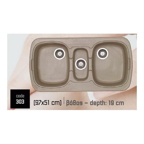 Συνθετικοί-Νεροχύτες-Natura-303